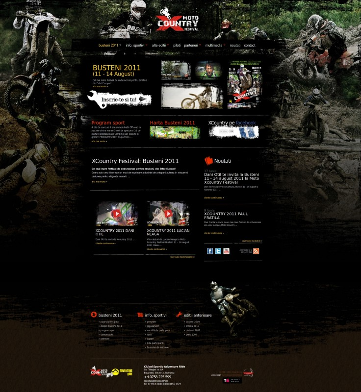 Xcountry - Web design