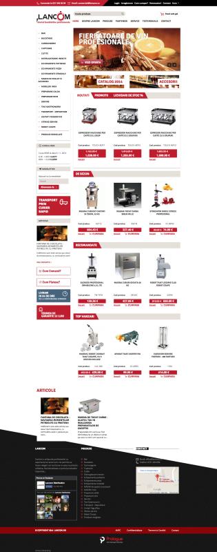 homepage, web design