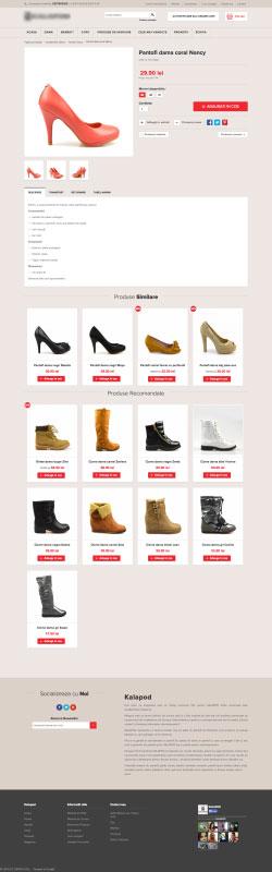 kalapod.ro , web design, webdesign