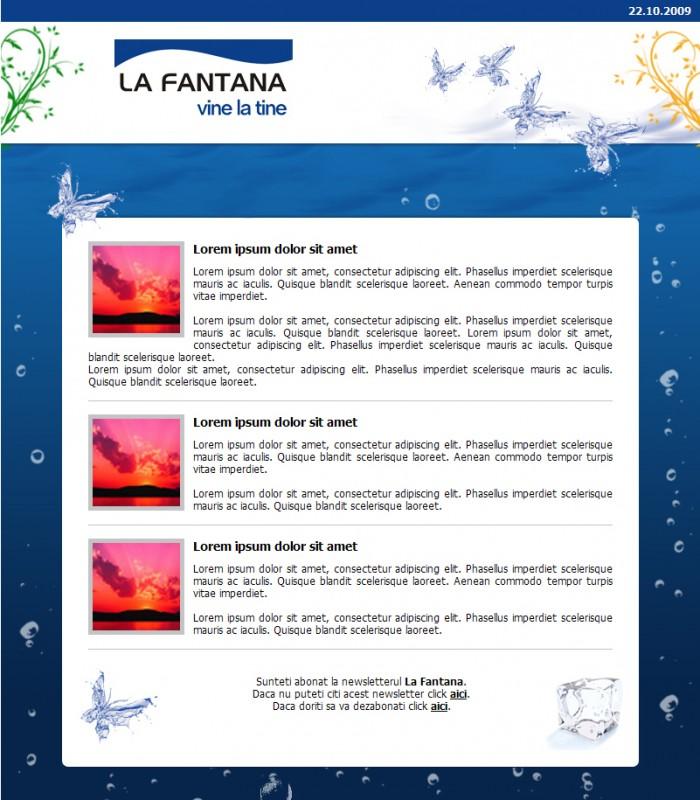 La Fantana - Newsletter