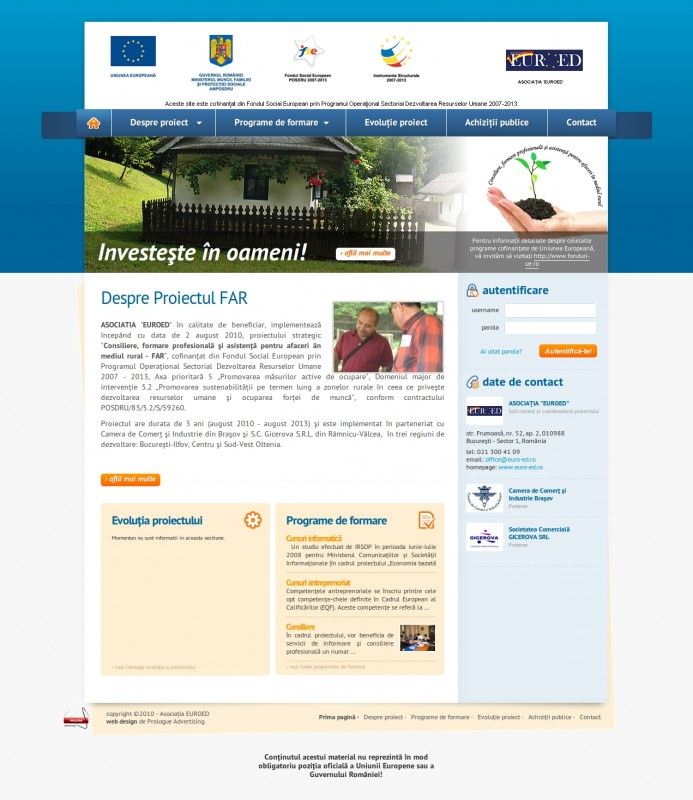 Proiect FAR - Web design