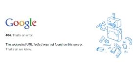 """Paginile """"404 error"""" pot fi si amuzante!"""