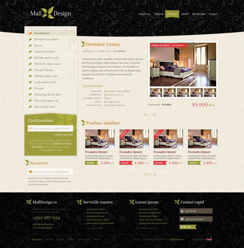 Malldesign - Web design