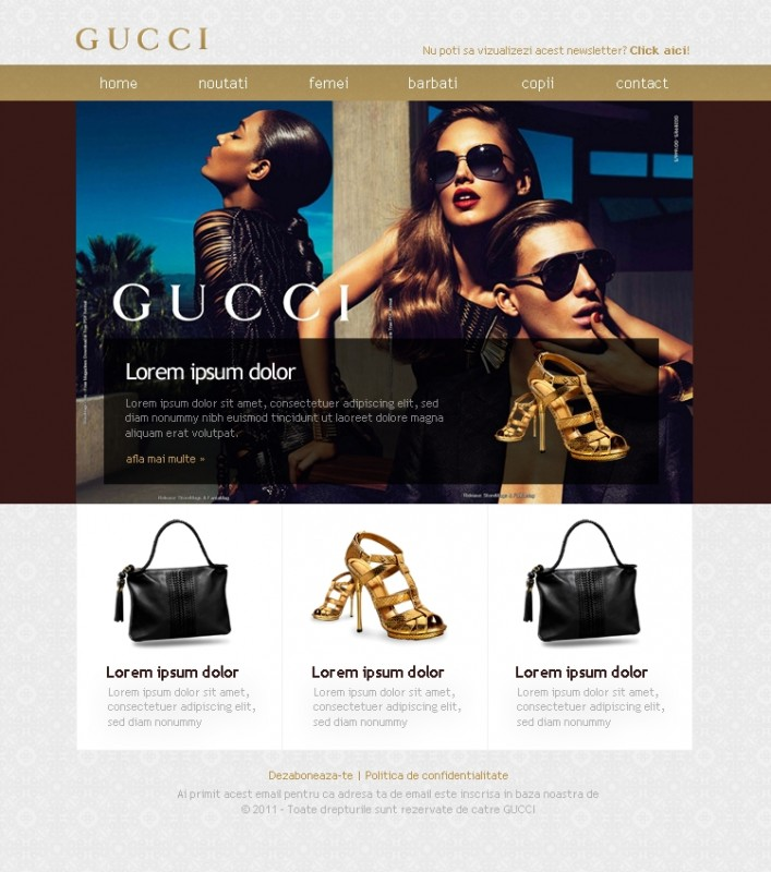 Gucci - Newsletter