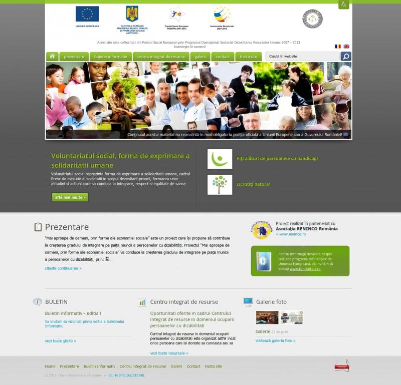 Centrul de resurse - Web design