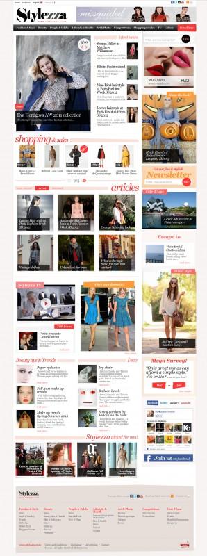 Stylezza - Web design