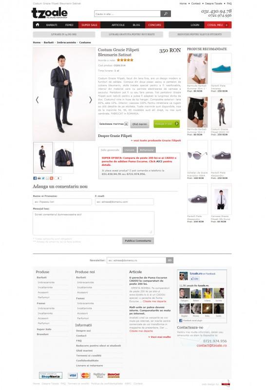 Tzoale - Web design