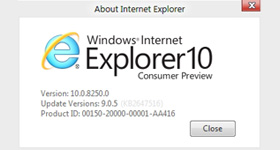Microsoft lanseaza Internet Explorer 10 Consumer Preview