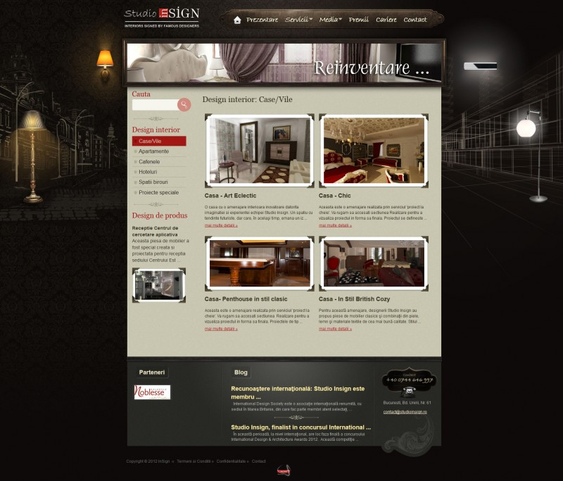Studio Insign - Web design