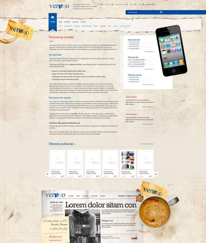 Versso - Web design