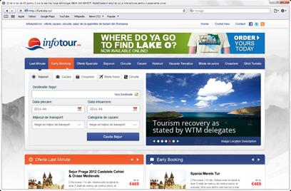 Realizare portal turism -Infotour
