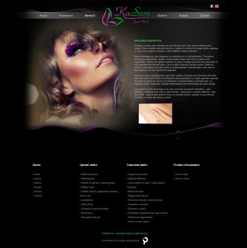 Doctor Kasem - Web design