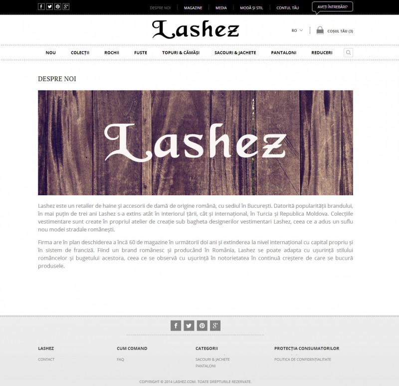 Lashez - Ecommerce