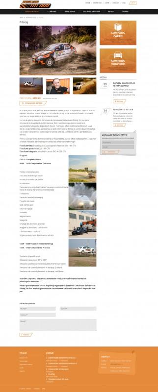 Titi Aur - Web design