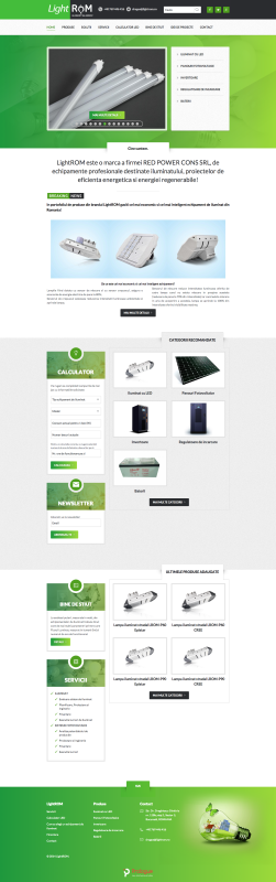 web design, pagina website homepage
