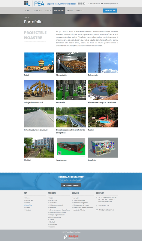 web design, pagina web-portofoliu