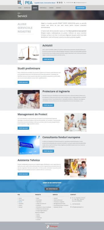 web design, realizare pagina web servicii