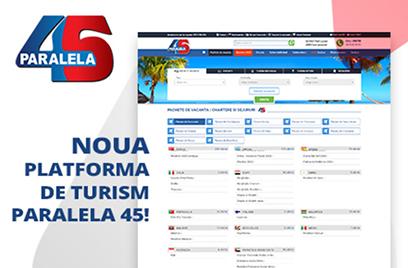 Prologue lanseaza o noua platforma de turism pentru Paralela 45