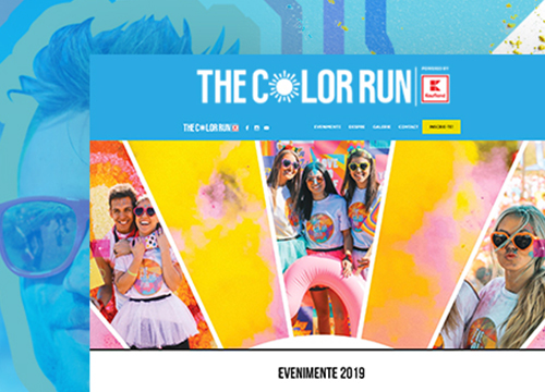 web design color run