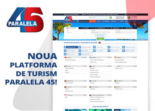 Rebranding site Paralela 45