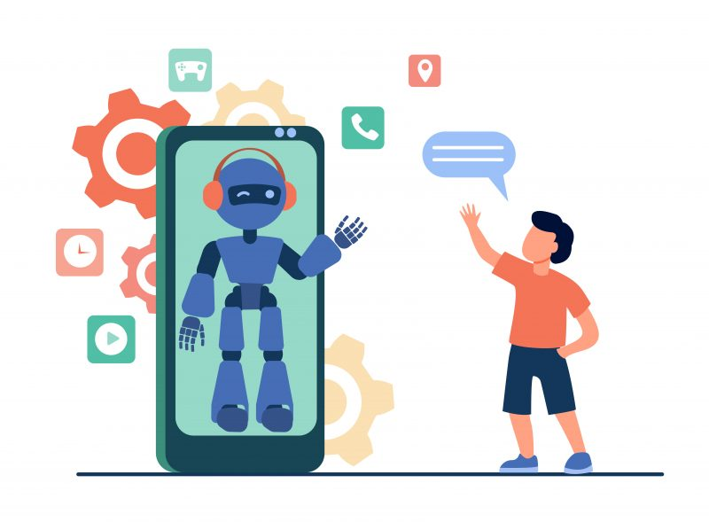 chatbot web design